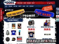 Miniaturka hoops.pl (Sklep koszykarski)