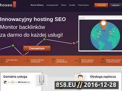 Miniaturka domeny www.hoseo.pl