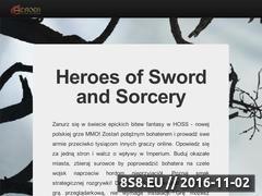 Miniaturka domeny www.hossmmo.com