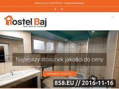 Miniaturka domeny hostel-baj.pl