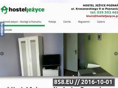 Miniaturka domeny www.hosteljezyce.pl
