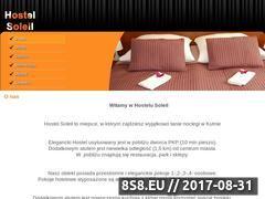 Miniaturka hostelsoleil.pl (Hotel Soleil - noclegi Kutno)