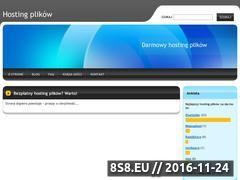 Miniaturka domeny hosting-plikow.webnode.com