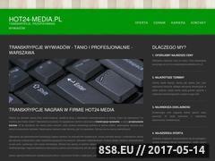 Miniaturka domeny hot24-media.pl