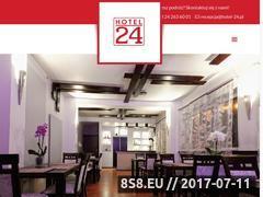 Miniaturka hotel-24.pl (Czyste pokoje hotelowe i smaczna kuchnia)