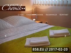 Miniaturka domeny www.hotel-chemik.pl