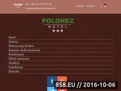 Miniaturka domeny www.hotel-polonez.pl