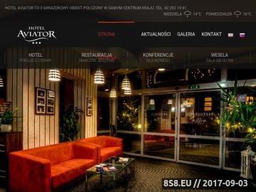 Zrzut strony Aviator - Hotel Pabianice
