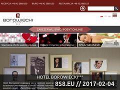 Miniaturka domeny hotelborowiecki.pl