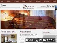 Miniaturka domeny www.hotelbrochow.pl
