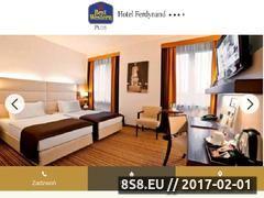 Miniaturka domeny www.hotelferdynand.pl