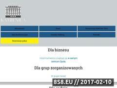 Miniaturka domeny hotelkamienica.com.pl
