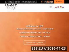 Miniaturka domeny www.hotellenart.pl