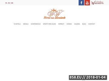 Zrzut strony Hotel na Błoniach Bielsko