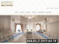 Miniaturka domeny hotelnadrzeczka.pl