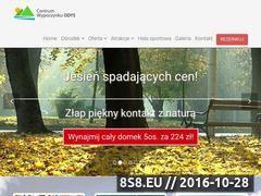 Miniaturka domeny www.hotelodys.pl