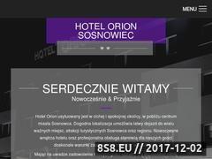 Miniaturka hotelorion.pl (Hotel Sosnowiec)
