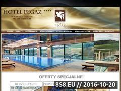 Miniaturka domeny www.hotelpegaz.eu