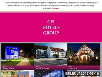 Zrzut strony Hotel Łódź