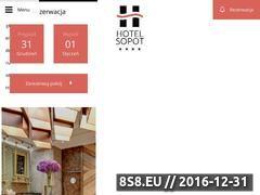 Miniaturka Nowy hotel w Sopocie (www.hotelsopot.eu)