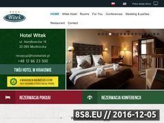 Miniaturka domeny www.hotelwitek.pl