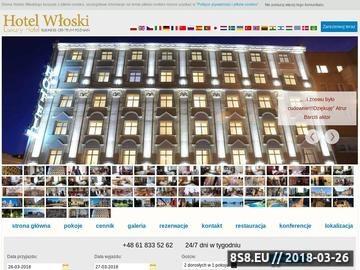 Zrzut strony Hotel Włoski - Noclegi Poznań