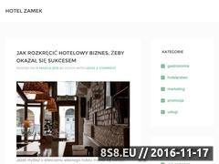 Miniaturka domeny www.hotelzamek.com.pl