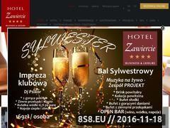 Miniaturka domeny www.hotelzawiercie.pl