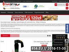Miniaturka domeny www.hotspray.pl