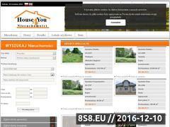 Miniaturka domeny www.house4you.pl