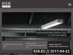 Miniaturka hskledy.com.pl (Oświetlenie led)