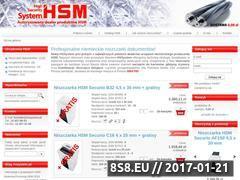 Miniaturka domeny www.hsmonline.pl