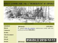 Miniaturka domeny www.hubertus-opole.pl