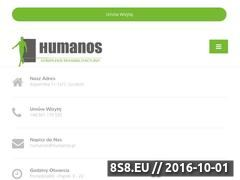 Miniaturka domeny www.humanos.pl