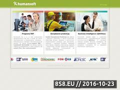Miniaturka domeny www.humansoft.pl