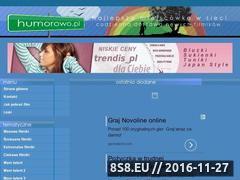 Miniaturka domeny www.humorowo.pl