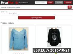 Miniaturka Internetowa hurtownia odzieży damskiej (hurt-odziez.pl)