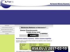 Miniaturka domeny www.hurt.manpolinvest.waw.pl