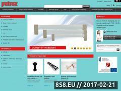 Miniaturka Sprzedaż stopek meblowych i uchwytów meblowych (hurt.patrex.pl)