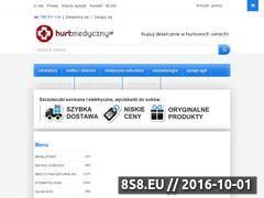 Miniaturka domeny www.hurtmedyczny.pl