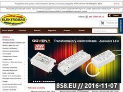 Miniaturka domeny hurtownia.elektromag.pl