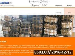 Miniaturka domeny hurtowniajulia.boo.pl