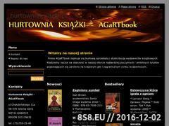Miniaturka domeny hurtowniaksiazek.webnode.com