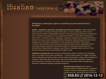 Zrzut strony Edukacyjne, ekologiczne, planszowe gry strategiczne dla dzieci i dorosłych - HusBao !