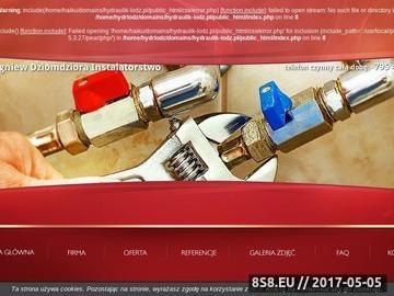Zrzut strony Hydraulik Łódź
