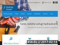 Miniaturka domeny hydraulik-warszawa.pl