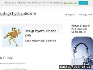 Zrzut strony Hydraulik Mińsk Mazowiecki