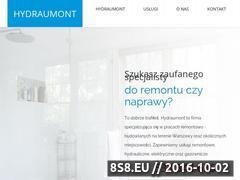 Miniaturka Usługi budowlane - hydraulik, elektryk i remonty (hydraumont.pl)