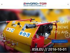 Miniaturka domeny hydro-tor.pl