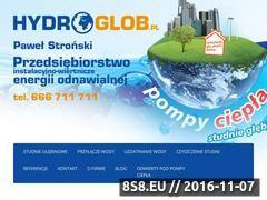 Miniaturka domeny hydroglob.pl